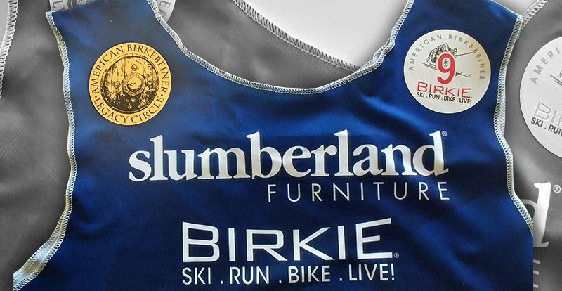 Birkie Legacy Circle Bib