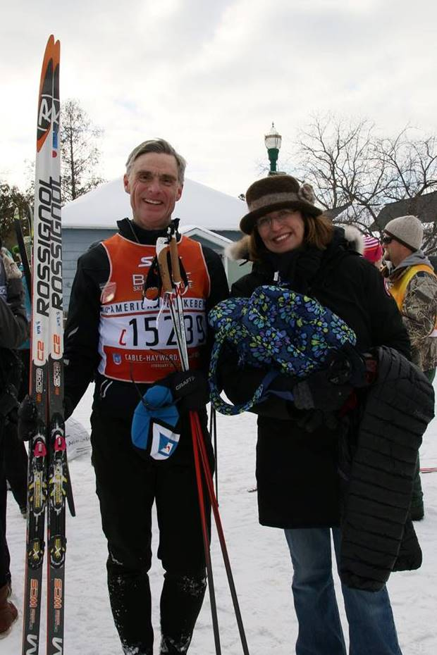 Dale and Wendy 2015 Birkie Finish